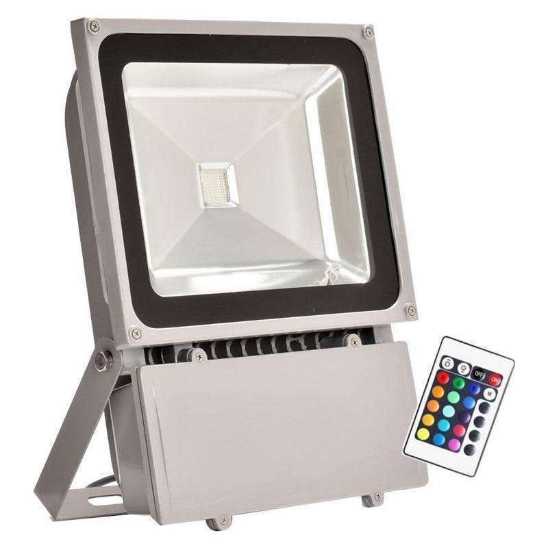 Proyector Led de exterior MICROLED, 100W, RGB